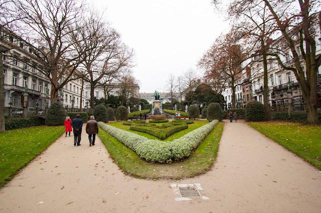 Place du petit Sablon-Bruxelles
