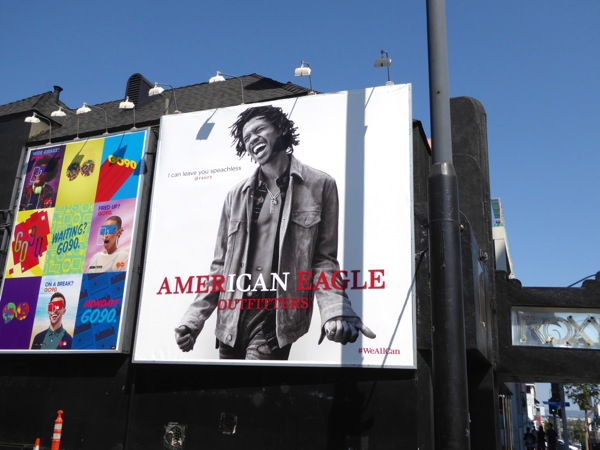 American Eagle Outfitters FW16 billboard