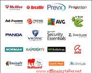 AVG, Avast, Bitdefender, Panda, Mcafee and Eset Offline Installer latest