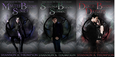 The Timely Death Trilogy by Shannon A. Thompson on Amazon