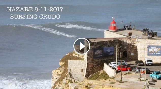 NAZARE 8-11- 2017 SURFING CRUDO