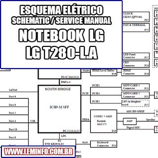 Esquema Elétrico Notebook Laptop Notebook LG T280 L.ARB1T QUANTA QL1 Manual de Serviço  Service Manual schematic Diagram Notebook Laptop LG T280 L.ARB1T QUANTA QL1    Esquematico Notebook Laptop LG T280 L.ARB1T QUANTA QL1