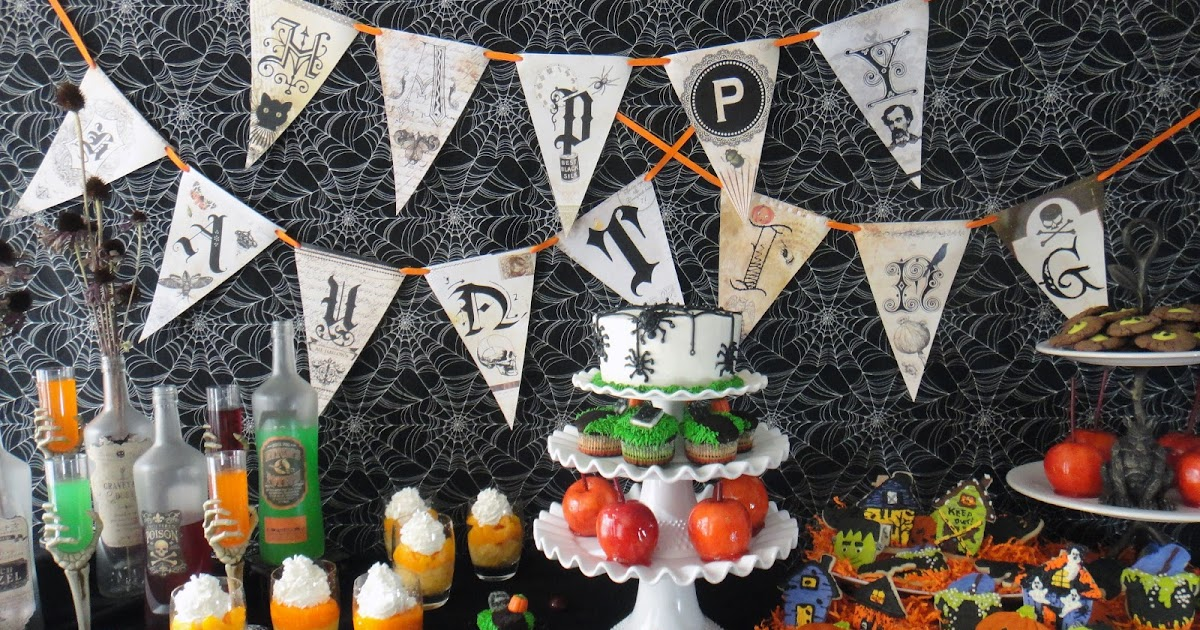 Halloween Party Finger Food Ideas For Adults