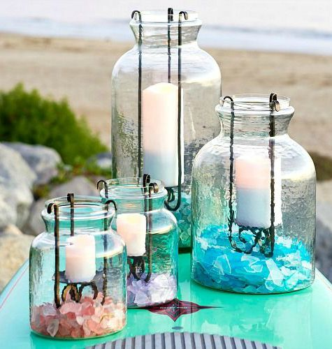 Jar Candle Lanter with Insert