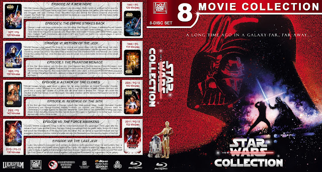 Star Wars Collection Bluray Cover
