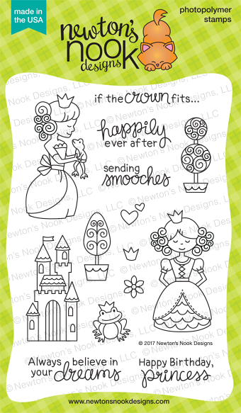 Newton's Nook Designs Once Upon A Princess Stamp Set