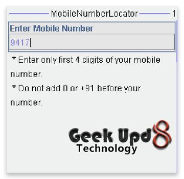 Trace Any Mobile Number (Indian) Location with this Amazing Mobile Application