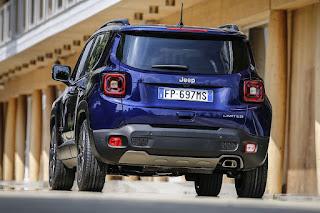 Jeep Renegade (2019) Rear Side