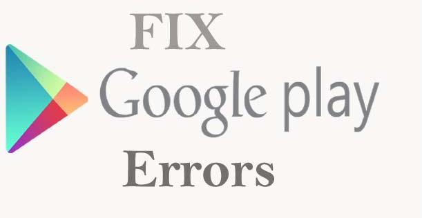 Update Eror kode atau error code play store dan cara mengatasinya