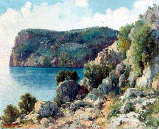 José Ventosa Domenech,  ocas de Mallorca, Mallorca en Pintura, Mallorca pintada, Paisajes de Mallorca