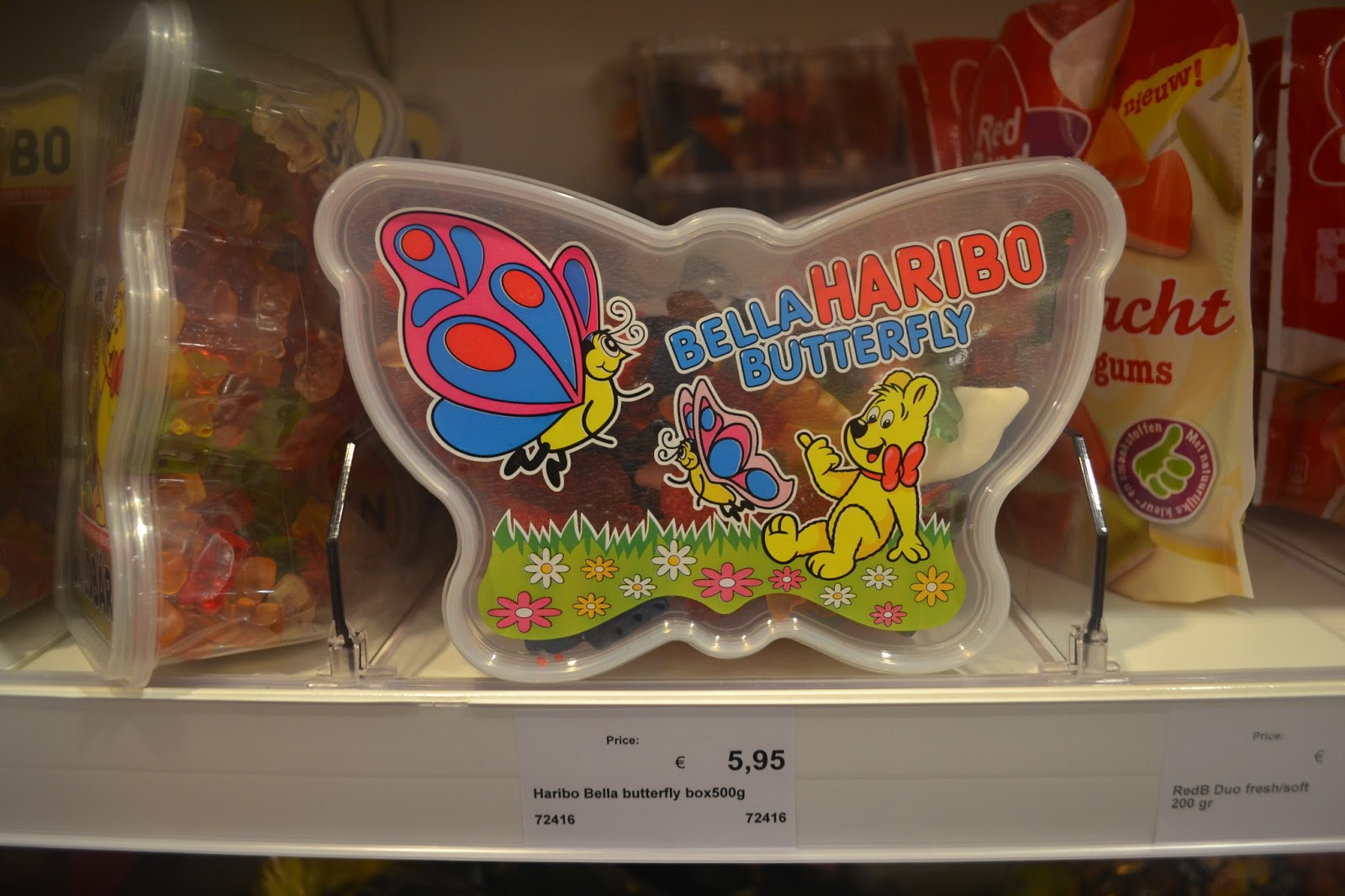 Haribo in Butterfly Shaped Pack
