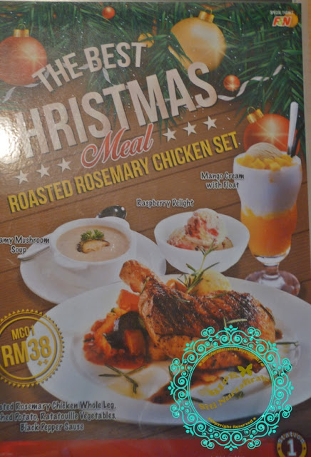 jjcm, tempat makan best, sedap, penang, bukit mertajam, station 1, signature, leisure mall, promotion, christmas, hari natal, whole leg chicken, herbal soup, live band, mushroom soup
