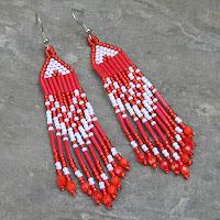 украшения от Anabel - бисерные серьги