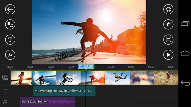 تطبيق PowerDirector Video Editor