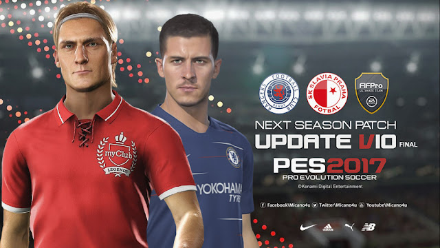 PES 2017 Next Season Patch 2019 Official Update v10 Final