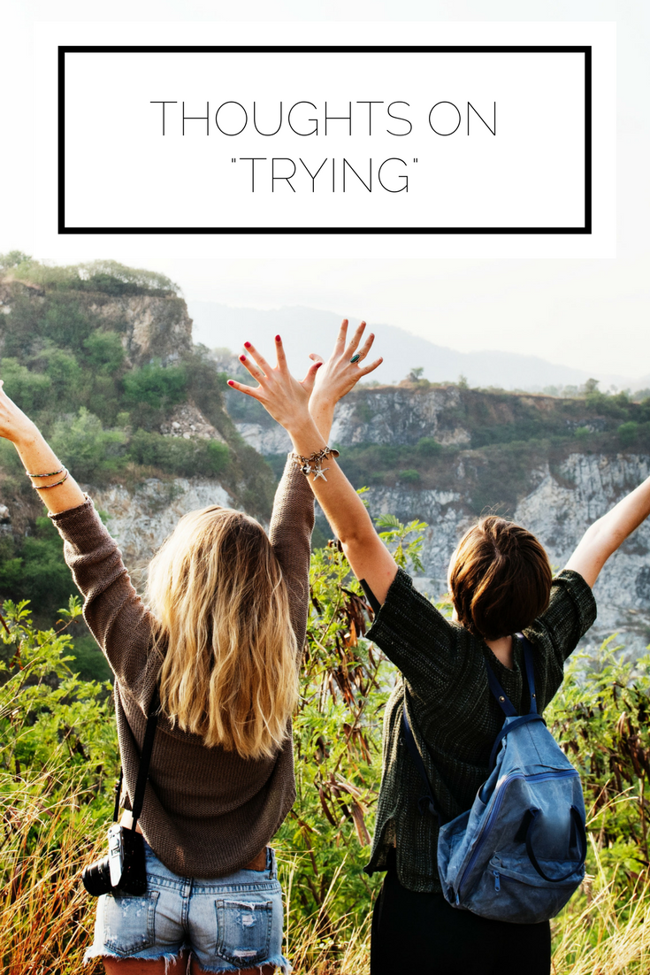Click to read now or pin to save for later! Have you ever thought about trying something completely new? Pushing yourself outside of your comfort zone? We don't have to do anything radical to grow and learn, it all starts with trying something new