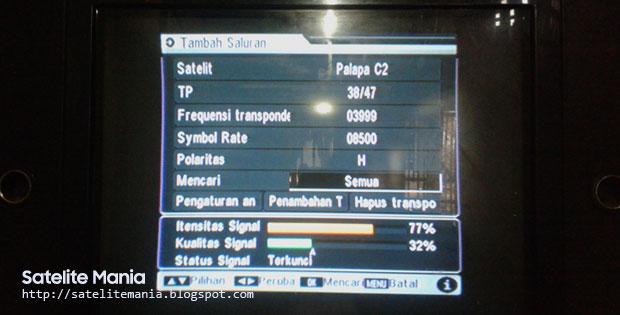 Inilah Daftar Terbaru Frekuensi Channel SCTV, Indosiar, O Channel MPEG-2 2016