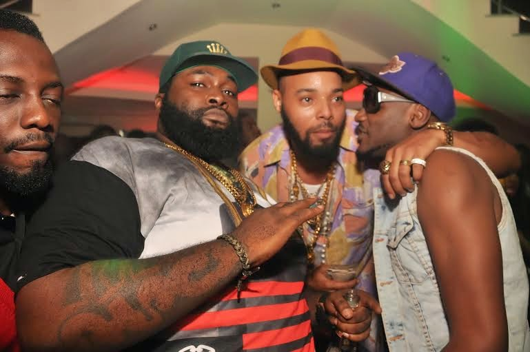 03 Photos: 2face, Wizkid, Sasha attend PREs 25th birthday party