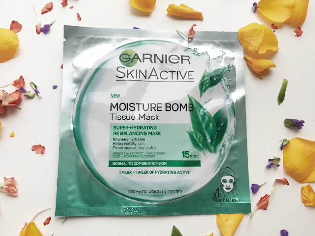 New Garnier Moisture Bomb Sheet Masks Reviews