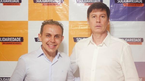 Vice de Brenno Queiroga, delegado Sérgio Leocádio promete firme combate ao crime organizado
