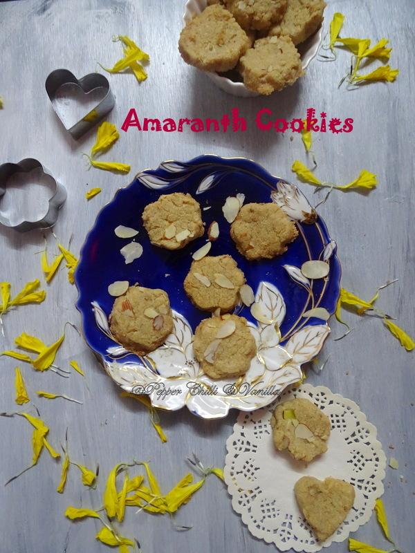 rajgira cookies