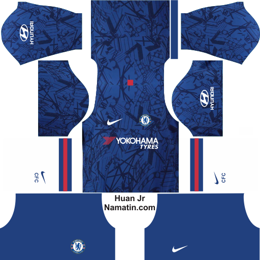 Kit DLS Chelsea FC