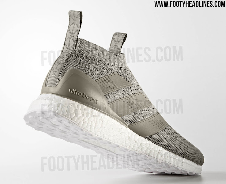 687e0231f6457d Unexpected Comeback - Limited-Edition  Sesame  Adidas Ace 16+ Ultra Boost  Earth Storm Released - Footy Headlines