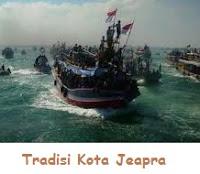 tradisi kota jeapra kapal dilautan