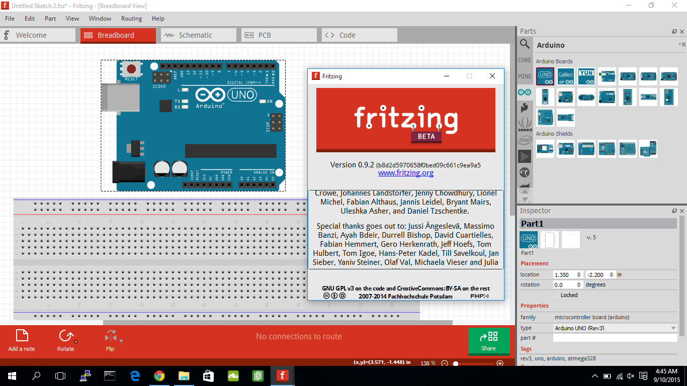Arduino-er: Download and Install 64 bit Fritzing on Windows 10
