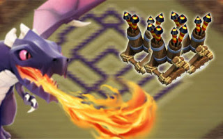 Kumpulan Formasi Base Town Hall 7 Clan Wars Dengan 3 Air Defense