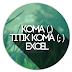 Fungsi Tanda Baca Titik Koma (;) dan Koma (,) dalam Microsoft Excel
