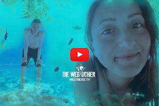 Schnorcheln auf den Malediven, WELTREISE, Die Wegsucher, Arkadij und Katja aus Bremerhaven