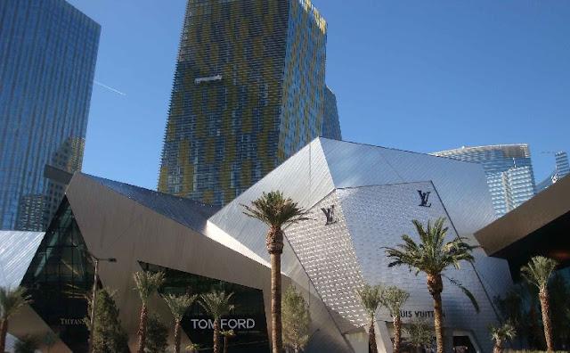 Arquitetura da CityCenter em Las Vegas