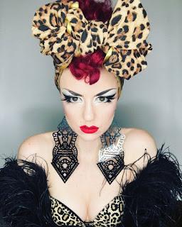 vintage headwear, vintage women's headwear, how to wear vintage head scarf, pinup headwear,