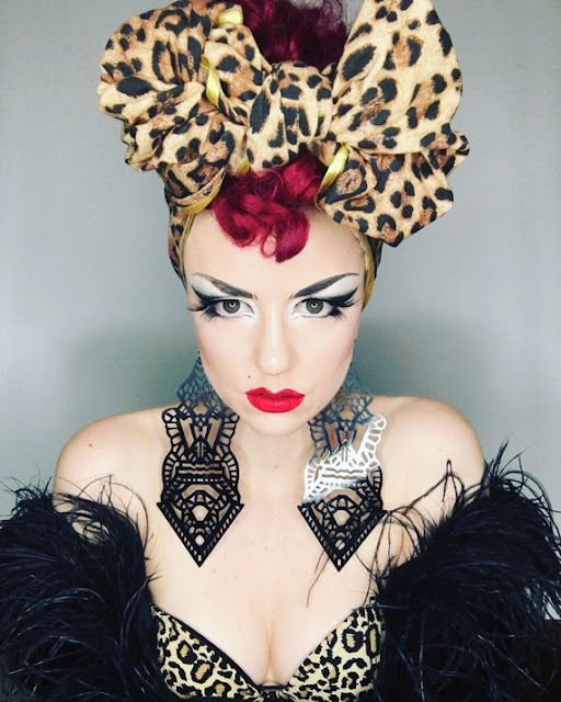 Meet The Australian Burlesque Artist With A Passion For Vintage Headwear