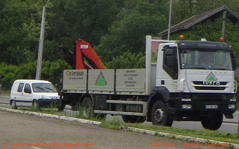 Camion Plateau Benne Leroy Merlin