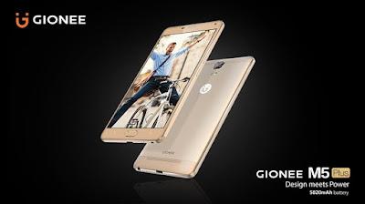 Gionee m5 plus nigeria image price
