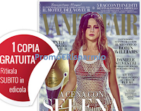 Logo Vanity Fair: copia gratuita in edicola