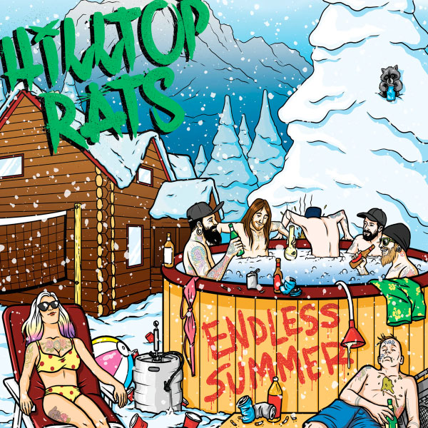"Hilltop Rats stream new album ""Endless Summer"""