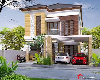 Jasa Arsitek Desain Gambar Rumah di Bali - Minimalis Modern Minimalist House Home Fasade