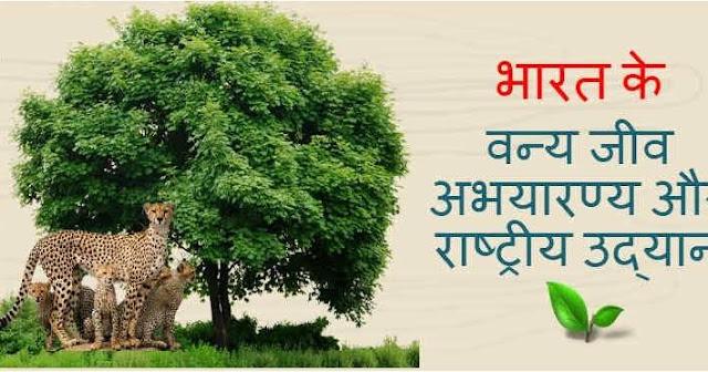 भारत के प्रमुख राष्ट्रीय उद्यान/अभ्यारण्य