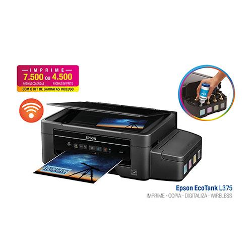 Impressora, Copiadora e Scanner Multifuncional Epson