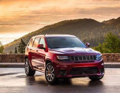 harga dan spesifikasi Jeep Grand Cherokee  2017