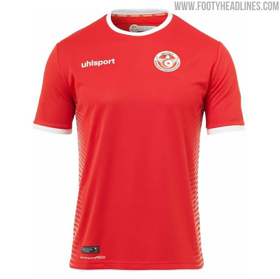 a443b02fe Free Tunisia 2018 World Cup Home and Away Kits Leaked