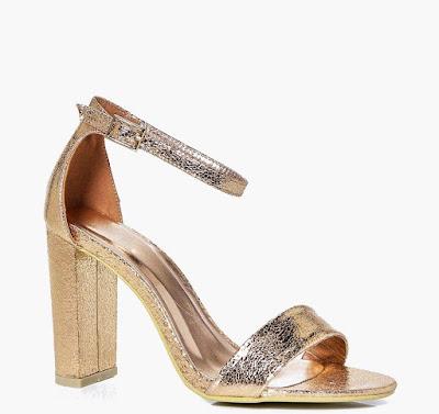 como puedo combinar zapatos dorados