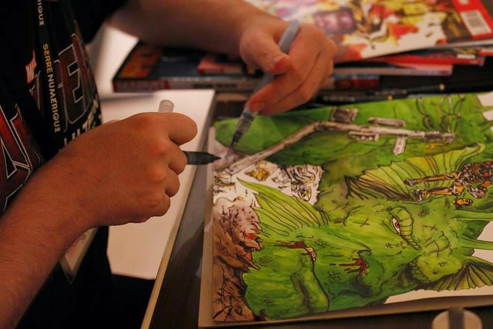 Malta Comic Con Drawing