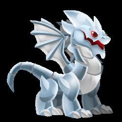 Dragon Chrome apparence jeune