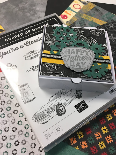 www.stampingwithsusan.com, 2019 Occasions Catalog,  Stampin' Up!, Geared Up Garage