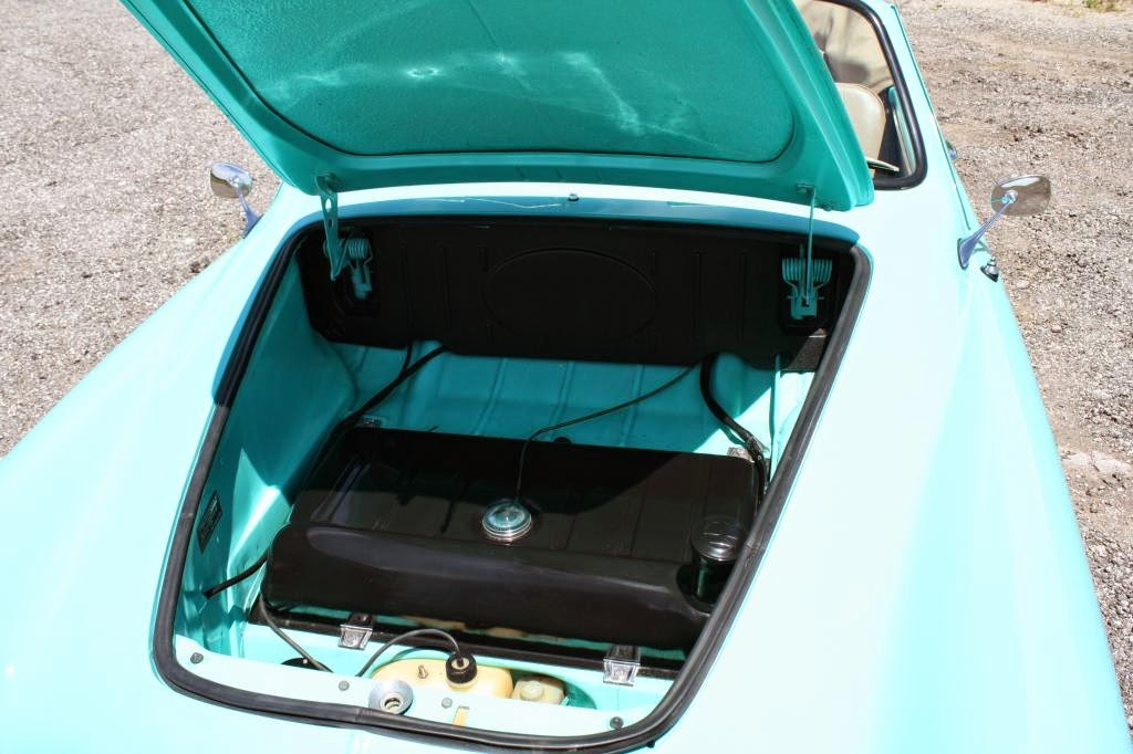 1964 VW Karmann Ghia Convertible Nut  Bolt Restoration