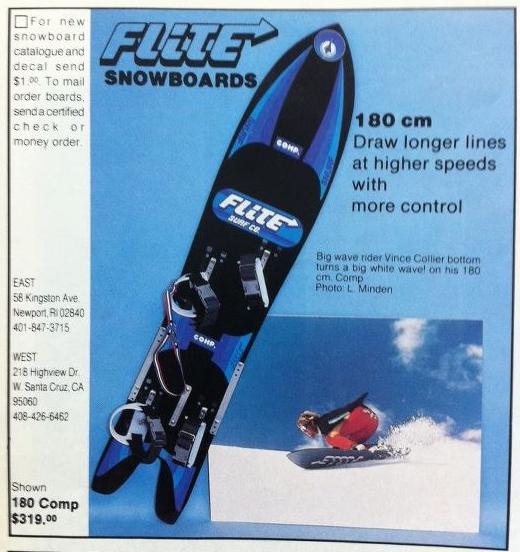 d2cb70059e0f Flite was also a pioneer in the development of bindings  they were one of  the first companies to produce a highback binding when Derrah developed  Jeff ...